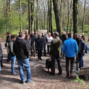 26.4.17 Ein kleiner Wald in Ronsdorf mit großer Wirkung Förster J. Frieg