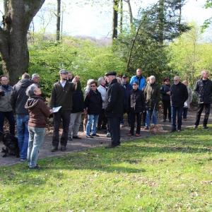 26.4.17 Ein kleiner Wald in Ronsdorf mit großer Wirkung Förster J.Frieg